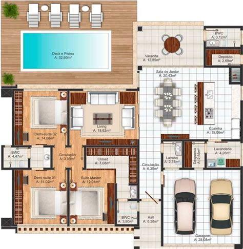 Homeplan by Decora 231 227 O E Projetos Plantas De Casas Com Medidas Gr 193 Tis