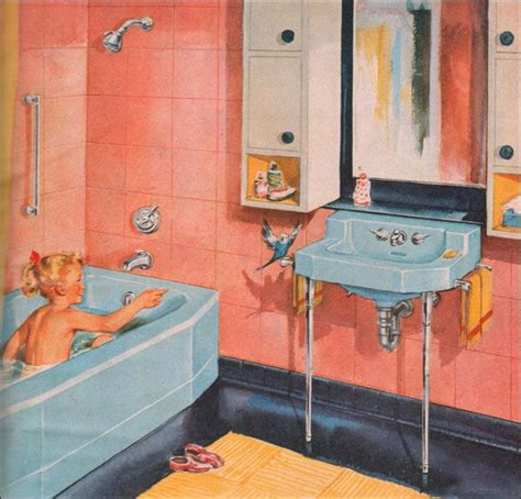 1950s blue and paint on pinterest 33 best the 1950 s bathroom images on pinterest 1950s