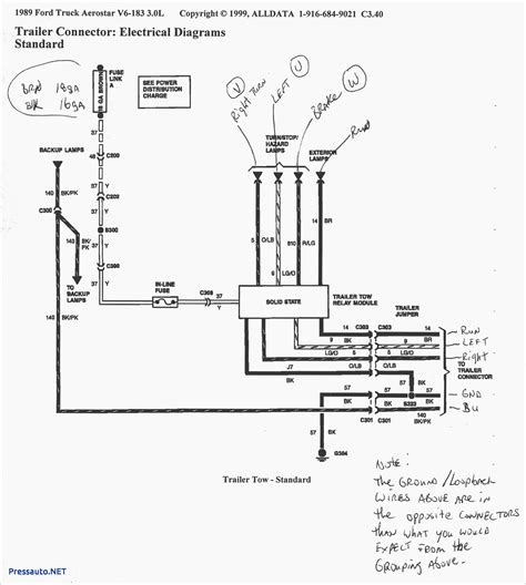 ford trailer wiring harness diagram wiring diagram