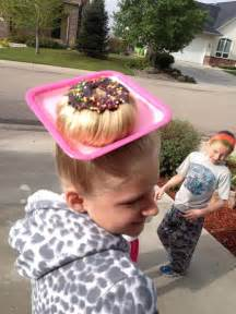 cool hair donut crazy hair day donut head summer fun with kids