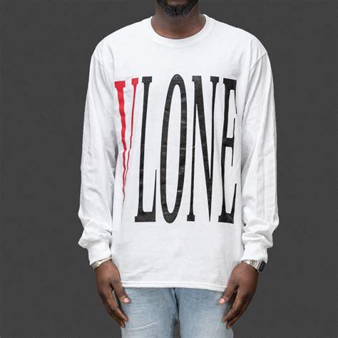 T Shirt Vlone vlone stretched logo sleeve t shirt wehustle