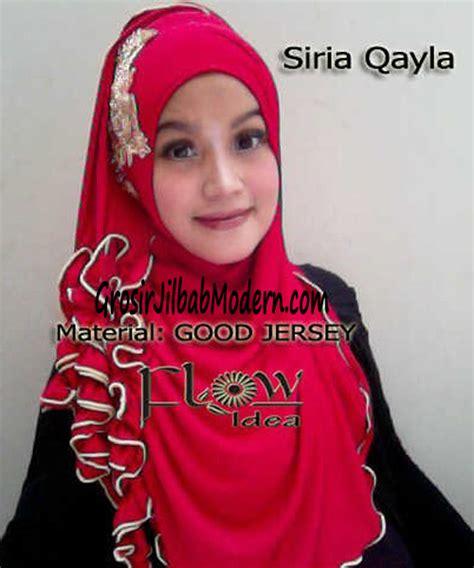 Jilbab Syari Kerudung Kerudung Instant Syiria Khanza jilbab syria qayla merah grosir jilbab modern jilbab