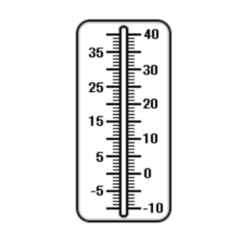 Termometer Celcius smart exchange usa thermometer celsius numbered