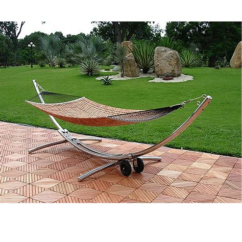 Outdoor Hammock Stand object moved