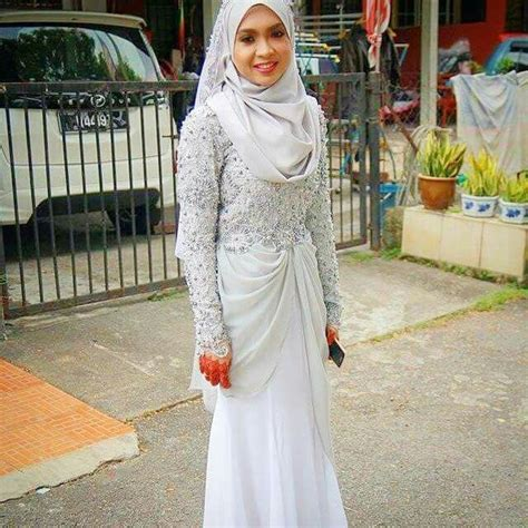 Baju Kebaya Akad Nikah Muslim Simple issyaz wedding w baju sanding akad weddings wedding and muslimah wedding dress