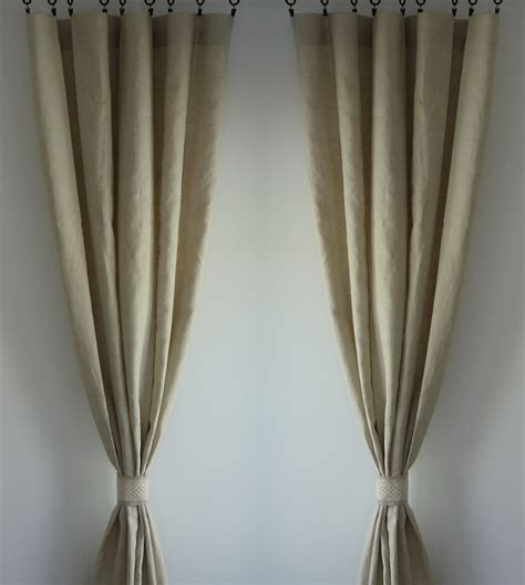 flax curtains 100 flax linen 47 colors custom curtain made to order one