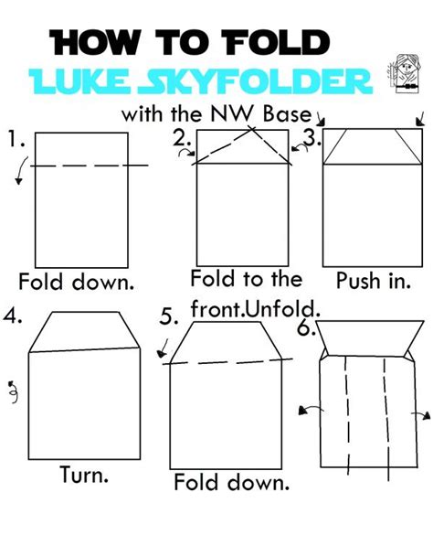 How To Fold Origami Yoda - luke origami yoda