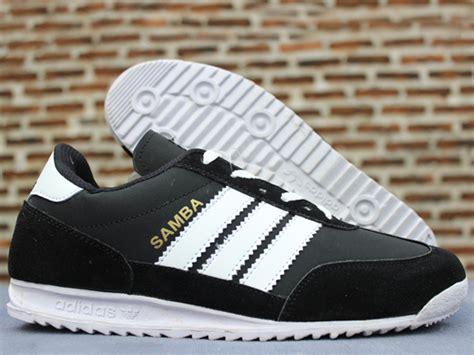 Adidas Samba Cassual Hitam Putih adidas samba hitam