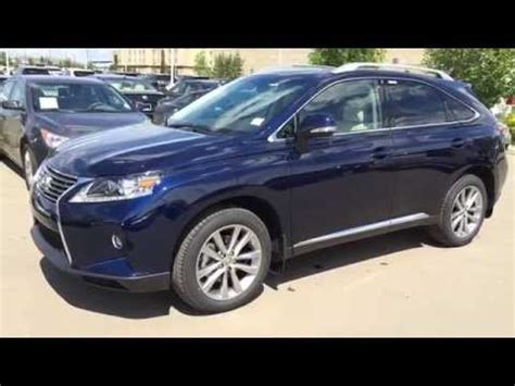 blue lexus 2015 blue on black 2015 lexus rx 350 awd review edmonton