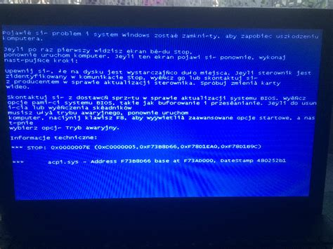 Kenapa Laptop Asus Blue Screen asus x551m blue screen przy pr 243 bie instalacji windows