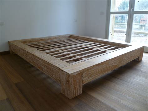 da letto in legno massello emejing letto legno massello contemporary