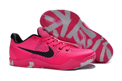 nike 11 em breast cancer pink black basketball shoes