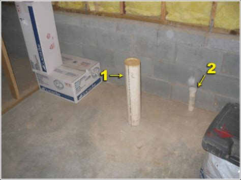 installing basement bathroom