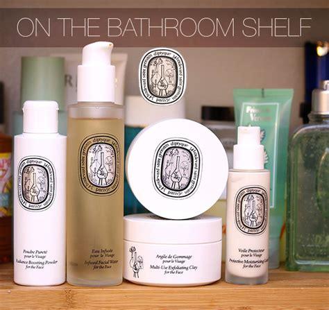 Skin Care Shelf by On The Bathroom Shelf Diptyque Skin Care Makeup