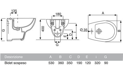 bidet colibri 2 scheda tecnica vaso e bidet sospeso colibri 2 pozzi ginori con coprivaso
