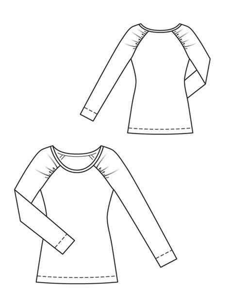 raglan pattern shape happilycaffeinated variations on a theme basic t shirt