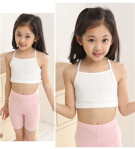 preteen models girls in underwear 1 pc girls small vests developing girl s bra cotton lycra