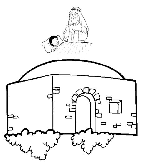 Free Coloring Pages Of A Room For Elisha Elisha Coloring Page