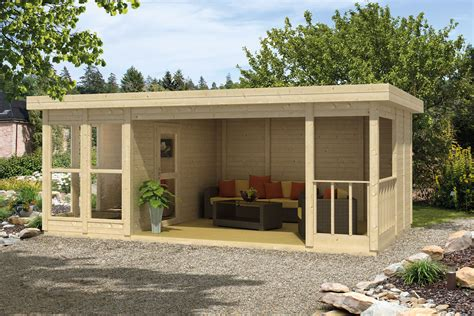 schuur bouwen zonder vergunning 2018 tuinhuis met plat dak en overkapping blokhut met luifel