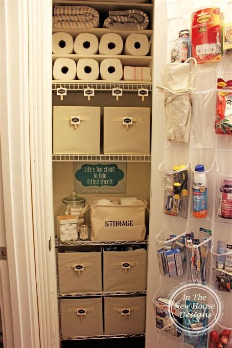 bathroom closet storage ideas 25 best ideas about small closet organization on