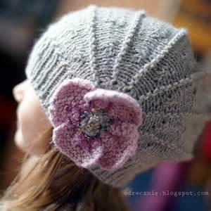 берет шапка вязание спицами