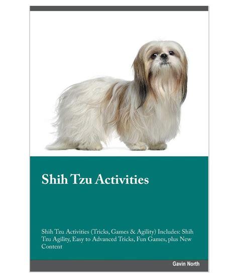 allshihtzu s book of shih tzu care books shih tzu activities shih tzu activities tricks