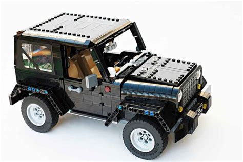 lego jeep lego jeep wrangler rubicon looks a showroom worthy project