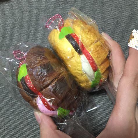 Squishy Sandwich Croissant by Squishystuff Realistic Sandwich Croissant Squishy