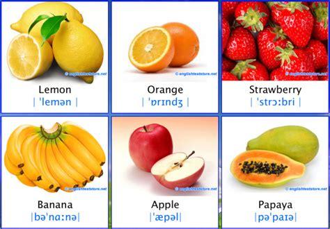 nama nama buah dalam bahasa inggris bergambar belajar bahasa inggris