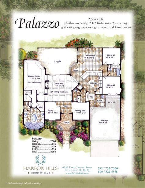palazzo floor plan palazzo floor plan palazzo harbor hills country club