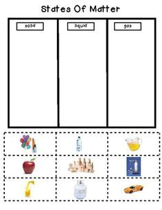 States Of Matter Worksheet Pdf by States Of Matter For Activities Search