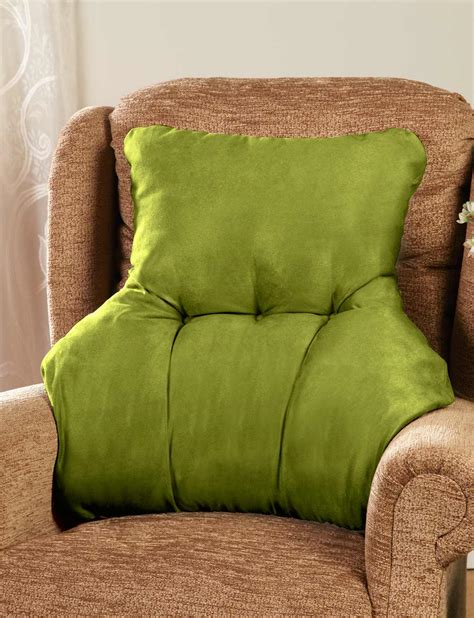 micro suede bed rest sofa back support pillow 5 colors ebay faux suede back rest lumbar support cushion ebay