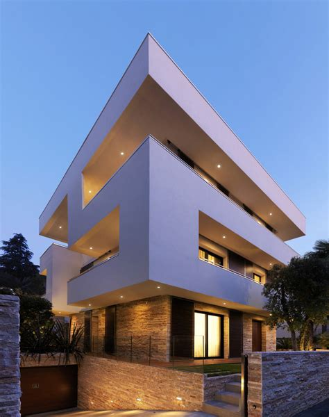 house architecture design italian maze house with geometric exterior sliding interior walls modern house designs