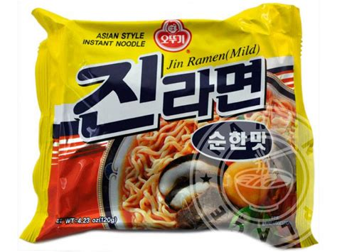 Ottogi Ramen Ottogi Jin Ramen Mild 4 23 Ounce Packages Pack Of 20 Ebay