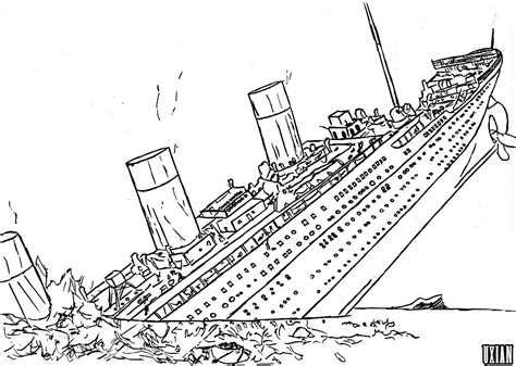 titanic coloring pages only coloring pages