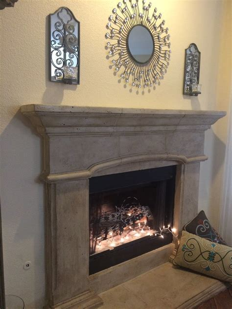 How To Finish A Fireplace by Cast Fireplace Faux Finish Place And Pits
