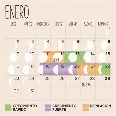 Calendario Llena Calendario Lunar 2017 Corte De Pelo Siembra Y Depilaci 243 N