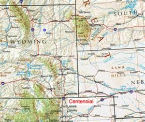 map of centennial colorado centennial uranium project 100 co usa azarga