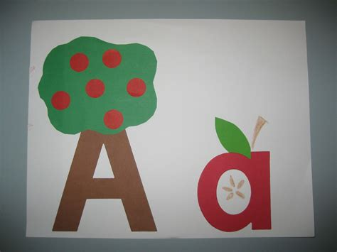 crafts for preschool image gallery letter a projects