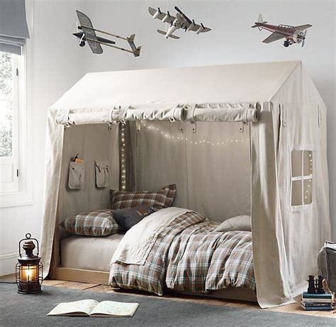 cole canvas tent bed collection rh baby child rh baby child s cole canvas tent this sturdy canvas