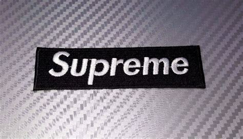 Patch Iron Patch Vans Diskon embroidered patch iron sew logo supreme skateboard vans