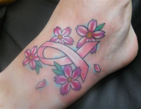 breast cancer ribbon tattoos pictures breast cancer ribbon tattoos