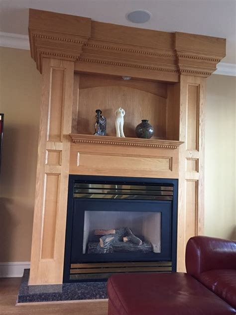 Update Fireplace Surround by What Can I Do To Update This Fireplace Surround