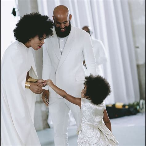 beyonce and blue ivy carter beyonce shares photo of blue ivy at solange s wedding