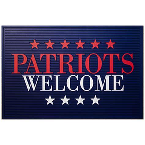 Patriots Doormat patriots welcome doormat