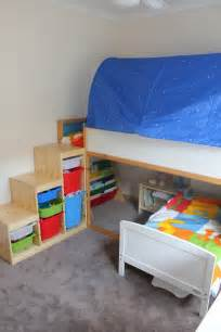 ikea kura loft bed mommo design ikea kura bed hacks