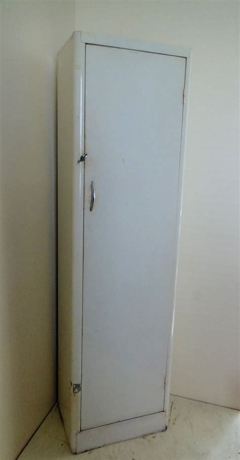 Metal Pantry Cabinet by Vintage Steel Storage Cabinet Pantry Locker Single Door