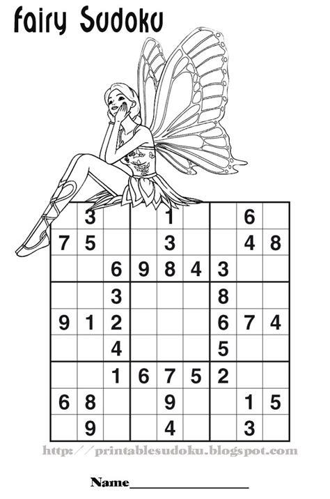 printable sudoku for preschoolers printable sudoku