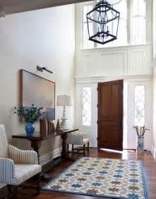 dark entryway table