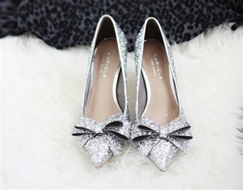 wedding shoes flats sparkle pointed toe silver sparkle flats wedding